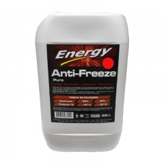 Anticongelante ENERGY 50% VERDE 25L