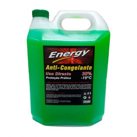 ANTICONGELANTE ENERGY 30% VERDE 5L