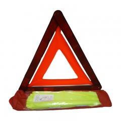 Kit Segurança - Triângulo + Colete Refletor