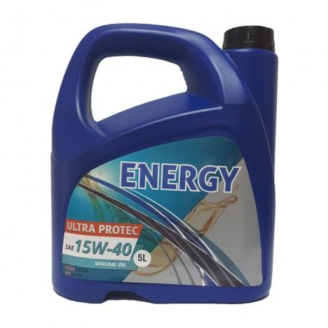 Óleo Motor ENERGY Ultra Protec Mineral 15W40 5L