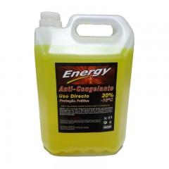 Anticongelante ENERGY 20% AMARELO 5L